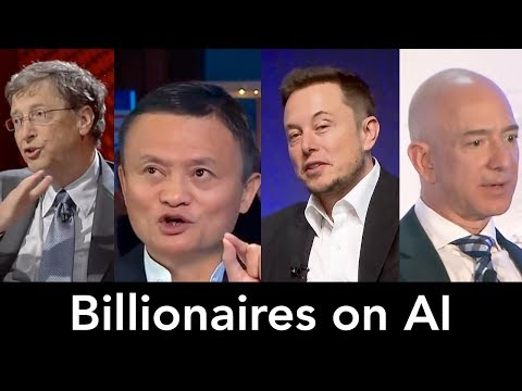 Billionaires on Artificial Intelligence, AI (Elon Musk, Bill Gates, Jack Ma)