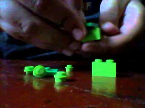 How To Make A Lego Bulbasaur Youtube