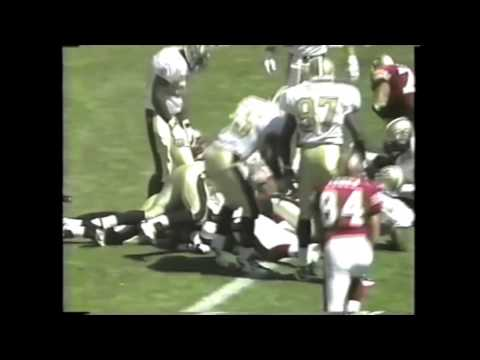 #44 TOUCHDOWN TOMMY VARDELL HIGHLIGHTS, SAN FRANCISCO 49