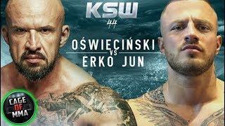 KSW 44 - Tomasz Oświeciński vs Erko Jun