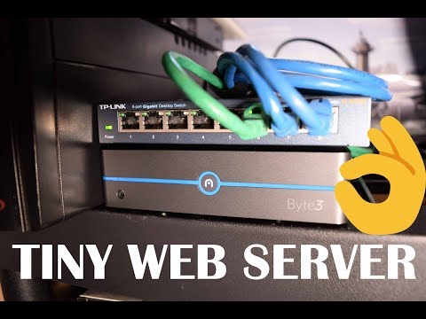 Website Server Upgrade: From 45 Watts to 3 Watts