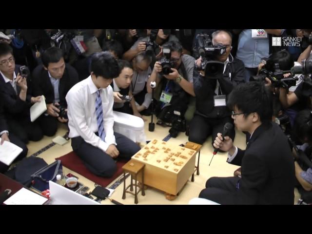 将棋の藤井聡太四段、29連勝の新記録達成 30年ぶりに塗り替え