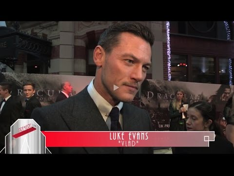 Luke Evans, Sarah Gadon, Art Parkinson, Gary shore - Dracula Untold Premiere Interviews