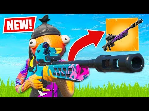 New STORM SCOUT SNIPER is OVERPOWERED!! (Fortnite Battle Royale) thumbnail