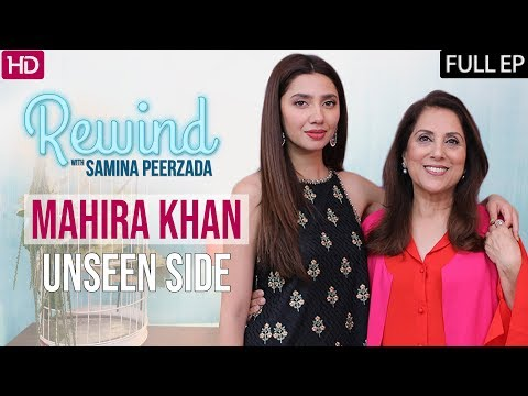Mahira Khan Uncut Version on Rewind with Samina Peerzada | Episode 2 | Humsafar | Verna