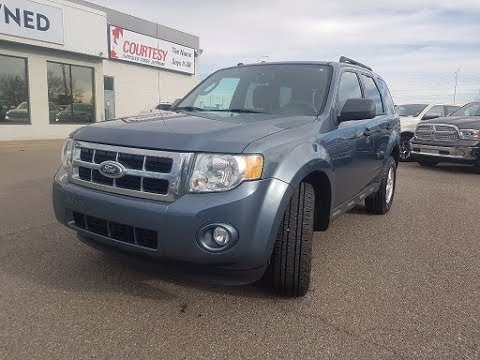 Sport Blue Metallic 2010 Ford Escape Xlt Courtesy Chrysler