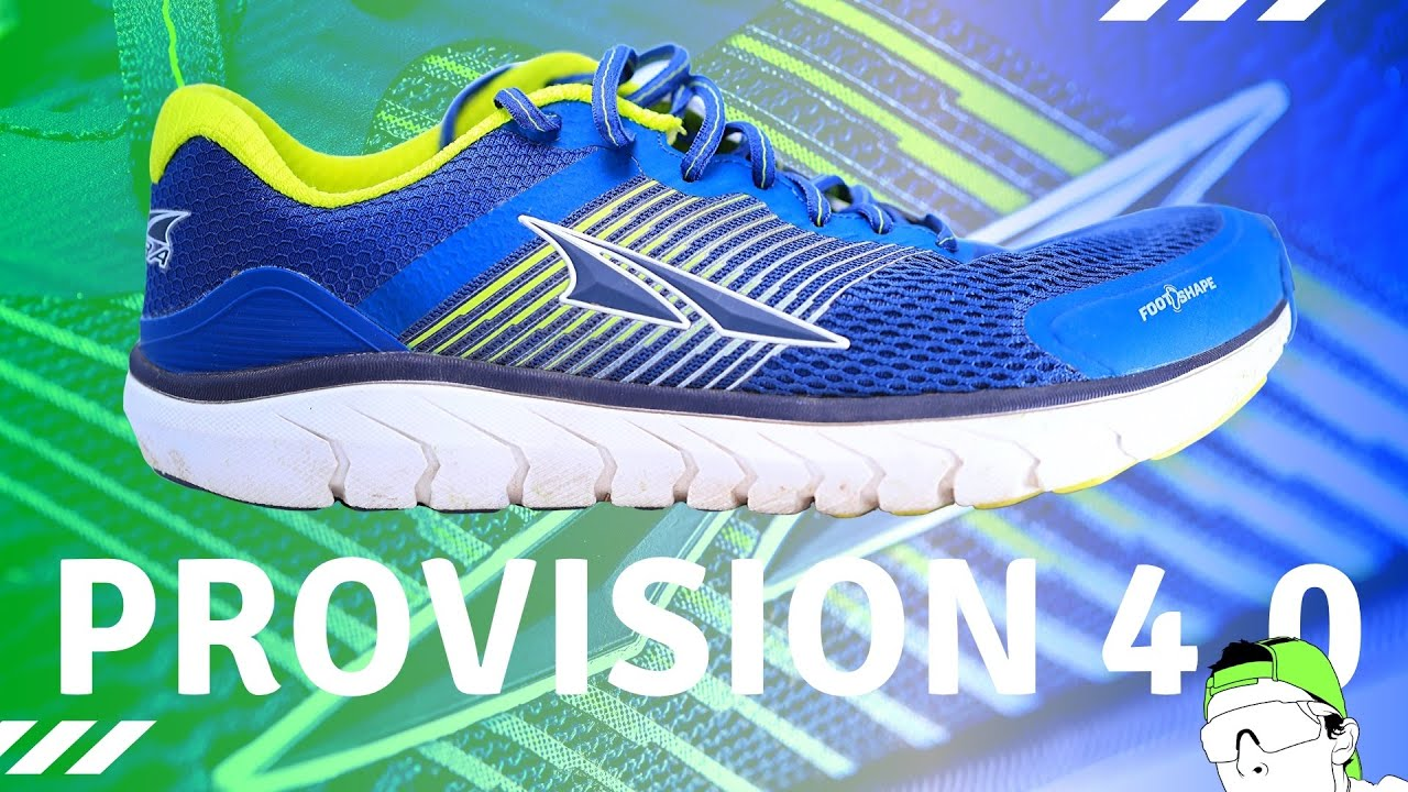 Altra Provision 4 0 Foot Shape Zero Drop Running Shoe Youtube