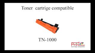 Toner laser for Brother TN-1000