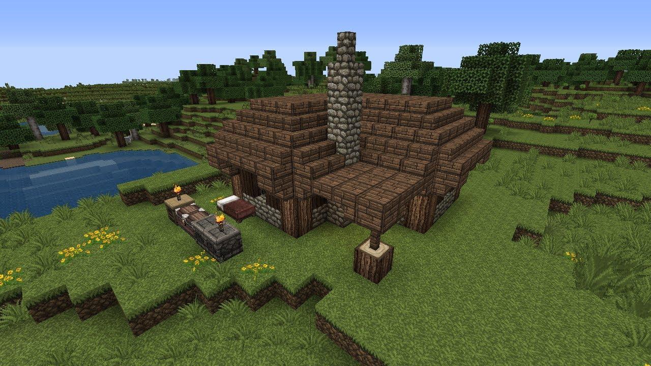 Minecraft hardcore ita 3 costruiamoci una casa for Case in stile castello