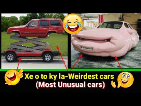 Xe o to ky la-Weirdest cars (Most Unusual cars)