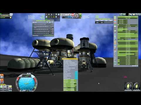 "Kerbal Space Endeavour Ep. Bonus ""Selfsustaining Laythe Base with MKS"""