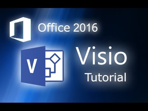 Microsoft Visio 2016 - Tutorial for Beginners [+General Over