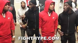 "TERENCE CRAWFORD WARNS ERROL SPENCE TO HIS FACE; SAYS HE HAS POWER TO STOP HIM: ""BE CAREFUL\"""