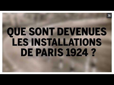 Que sont devenues les installations olympiques de Paris 1924 ?
