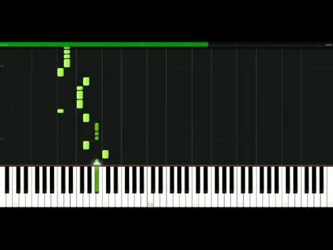 Jethro Tull - Bouree [Piano Tutorial] Synthesia | passkeypiano