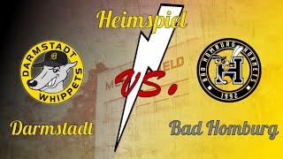 2. Bundesliga Süd/West Darmstadt Whippets vs. Bad Homburg Hornets