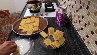 HOW TO MAKE BISCUITAL CHOCOLATE PASTE / PUDDY AGE PASTE DECORATION / PASTE RECIPES MOZAIC PASTE