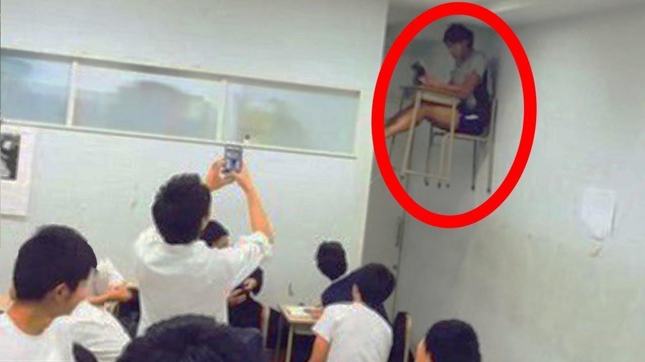 Okullarda Yakalanmış 9 Korkutucu Video