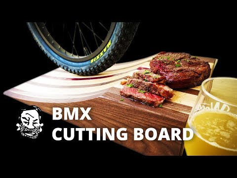 Kicker Ramp Cutting Board for MTB and BMX - Featuring Crafted Workshop