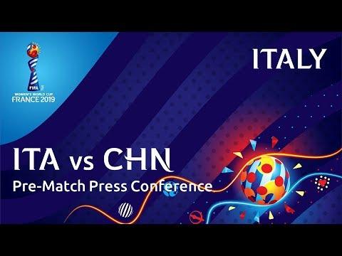 ITA v. CHN - Italy Pre-Match Press Conference