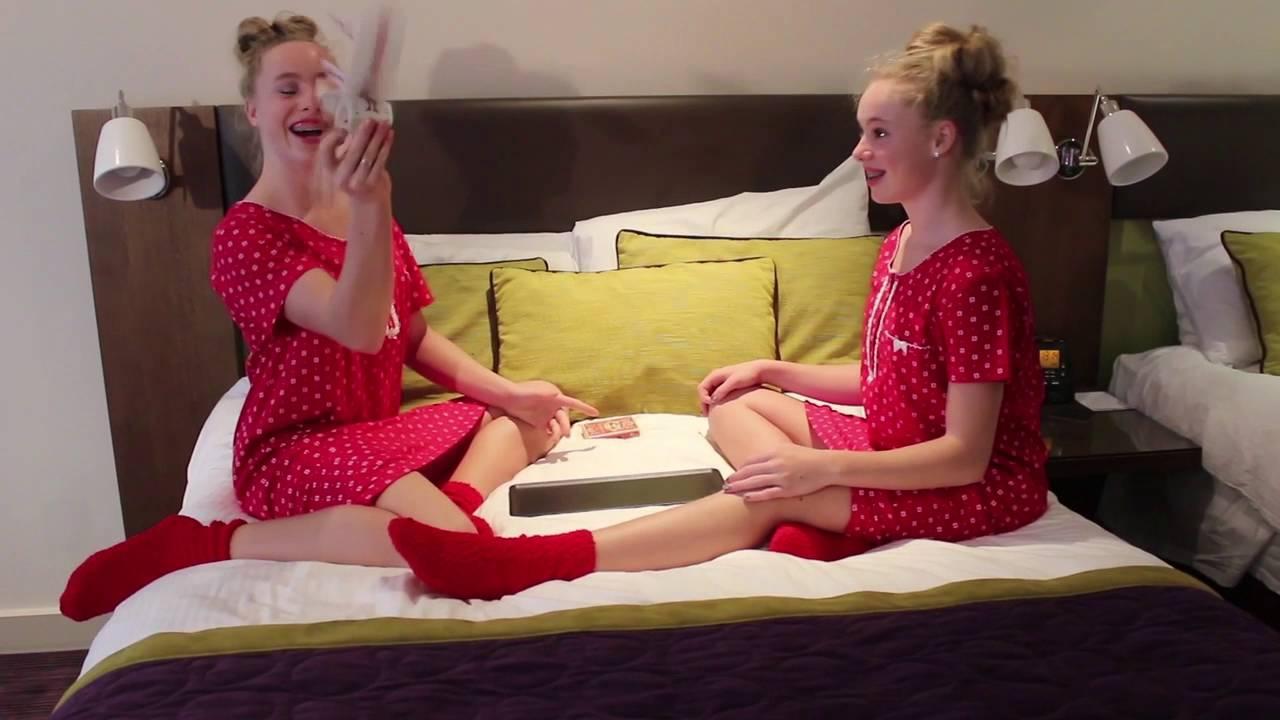Super Slaapfeestje Tips - Mylene & Rosanne - YouTube @LW01