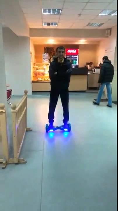 Как кататься на Razor RipSurf в скейт-парке и в боуле, рампе .