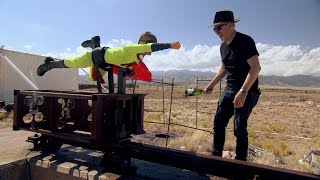 Buster's Supersonic Goodbye | MythBusters