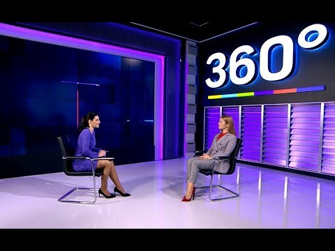 Алина Яровая в программе «Интервью 360» (телеканал 360)