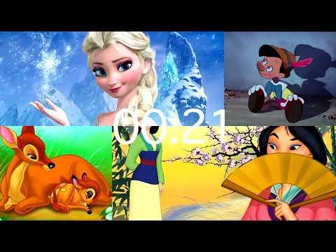 Quizz Disney (niveau 2)