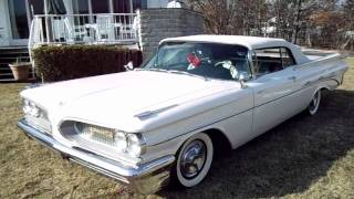 Review of a Restored 1959 Pontiac Bonneville Convertible For Sale