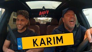 Karim (Temptation Island)  - Bij Andy in de auto! (English subtitles)