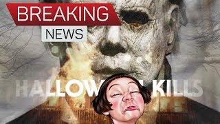HALLOWEEN KILLS BREAKING NEWS HOLY HECK SET PHOTO