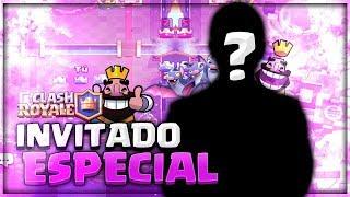 INVITADOS ESPECIALES! TICO Y LUCASXGAMER POR EL TOP 1 MUNDIAL! 😎 CLASH ROYALE