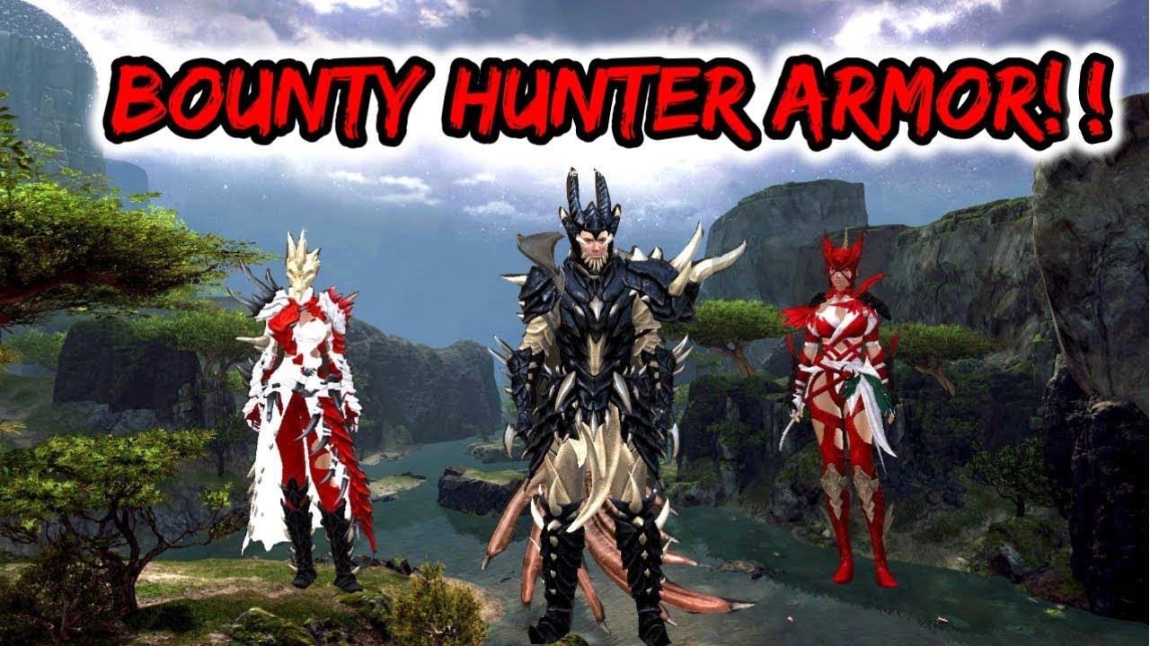 Gw2 PoF Bounty Hunter's Armor Recipe Location Desolation