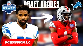 3 CRAZY Draft Day Trades That Could Work?! Trading Slay? Detroit Lions Talk