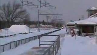 Acela in the Snow