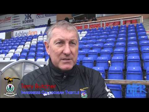 Inverness CT - Terry Butcher post match interview v Celtic 09/02/2012