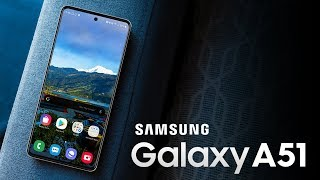 SAMSUNG GALAXY A51 - This Is It!