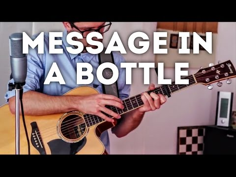 Message In A Bottle - The Police (INSTRUMENTAL fingerstyle guitar cover)