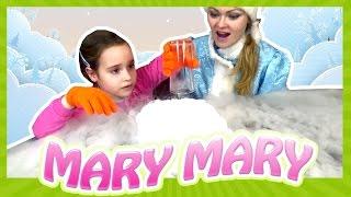 сухой Лед Как сделать пар своими руками Опыты в домашних условиях эксперименты Мери Мери