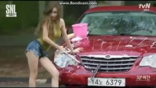 Video SNSD Tiffany Washing a car sexy SNL Korea download MP3, 3GP, MP4, WEBM, AVI, FLV Agustus 2018