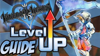 Kingdom Hearts HD 1.5 Remix - How to Level up Fast and Easy - Kingdom Hearts Final Mix