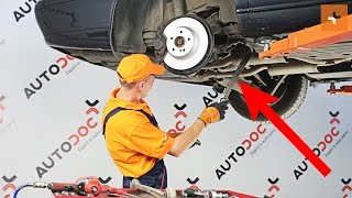 How to replace Suspension arm on MERCEDES-BENZ S-CLASS (W220) - video tutorial