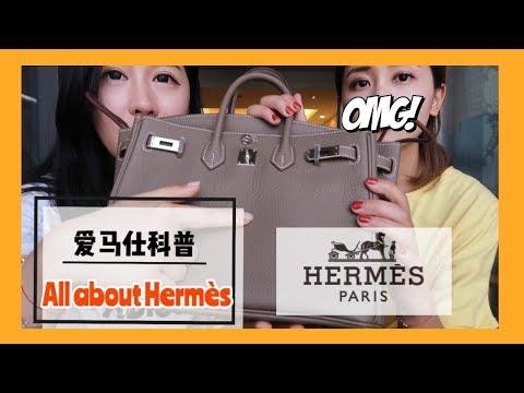 【字幕】科普|关于爱马仕的一切|ALL about Hermes|包款|价格|配货指南|皮质|颜色|拿包经验