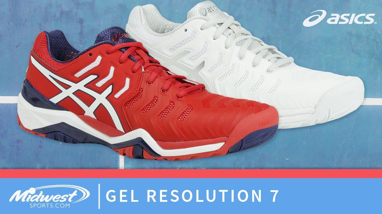 9fed034867f5 Asics Gel Resolution 7 Tennis Shoes - YouTube