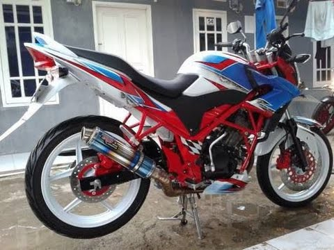 Top modifikasi motor honda cb150r