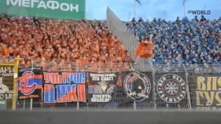 Обзор трибуны на матче 22 тура зенит - ЦСКА