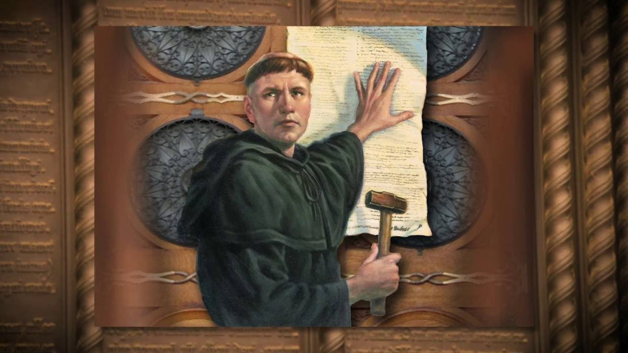 martin luther 95 thesis date On this day in 1517, the priest and scholar martin luther approaches the door of the castle church in wittenberg, germany, and nails a piece of paper to it containing the 95 revolutionary opinions that would begin the protestant reformation.