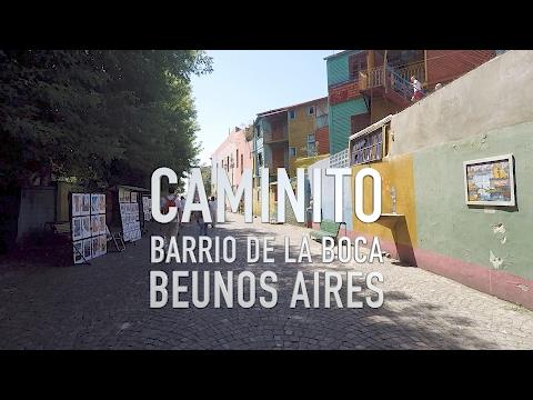 Caminito in La Boca • Buenos Aires    Joe Journeys