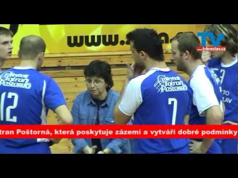 Volejbal Břeclav - projekt2 sestřih utkání I.ligy volejbalu mužů